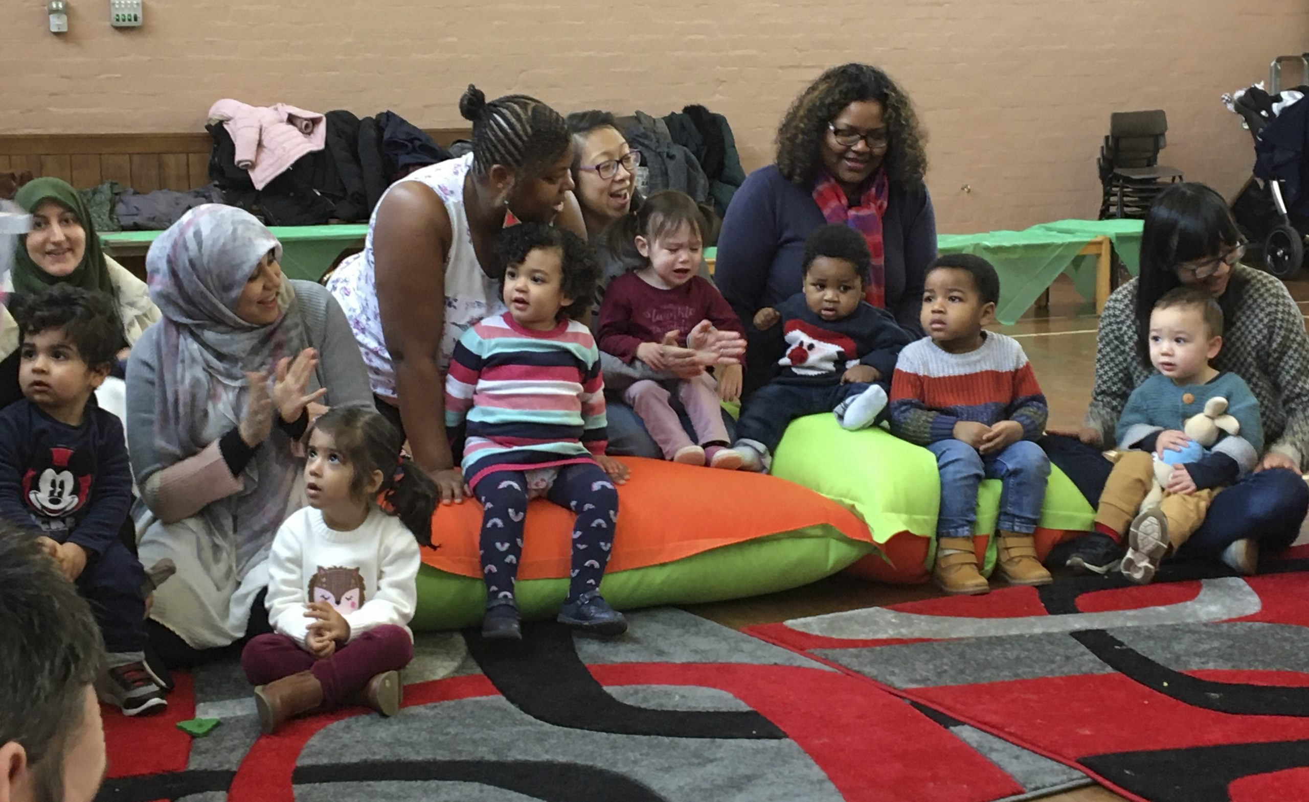 Everyone's friendly at Toddler Group